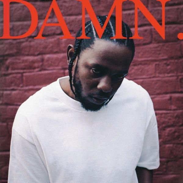 okładka płyty Damn Kendricka Lamara